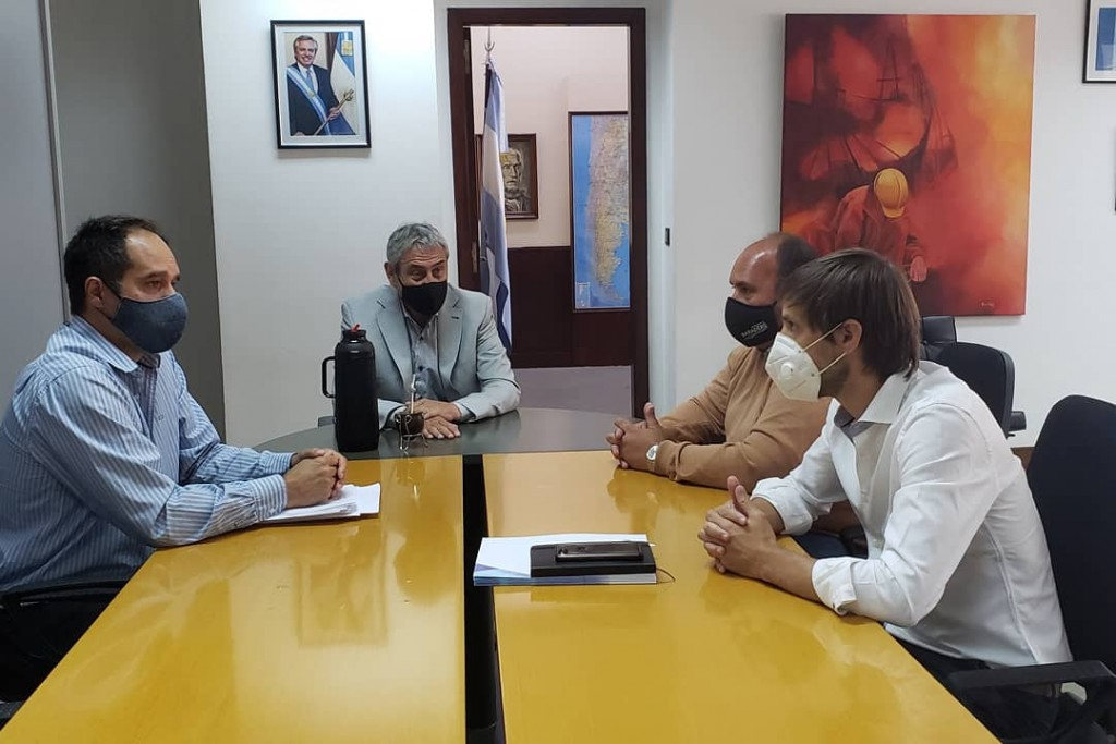 Baradero: El intendente se reunió con el ministro de Desarrollo Territorial y Hábitat de la Nación para presentarle su Plan Integral de Hábitat