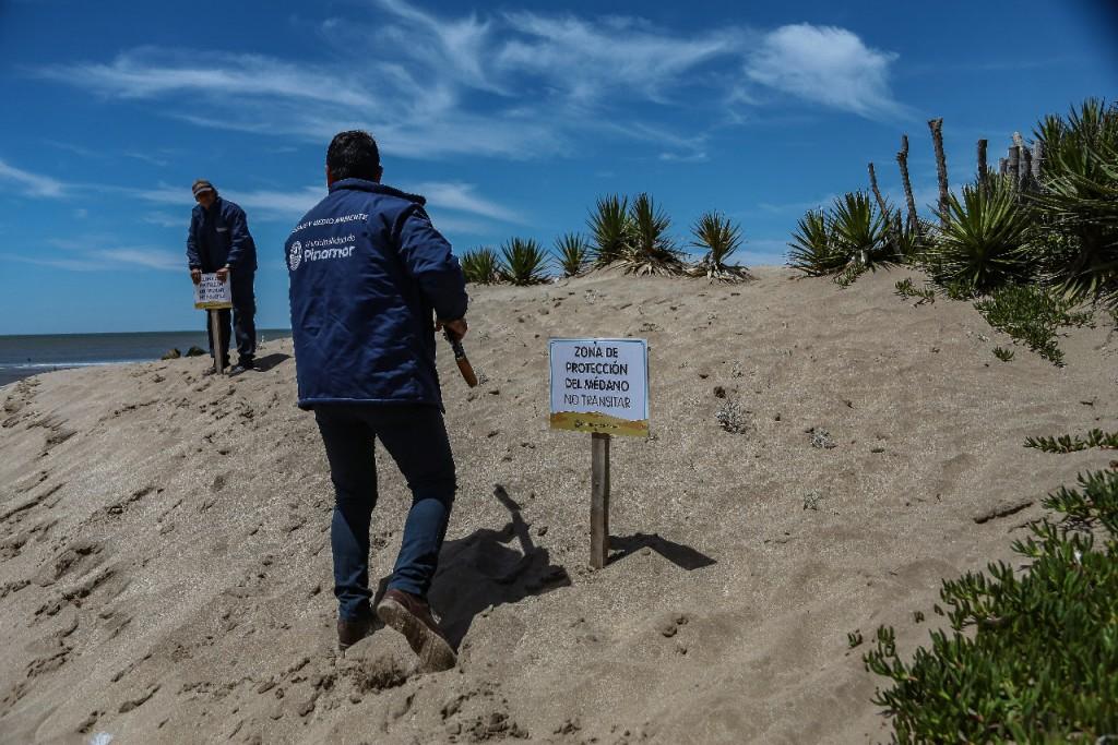 Pinamar: Tercera etapa de remediación del Frente Marítimo