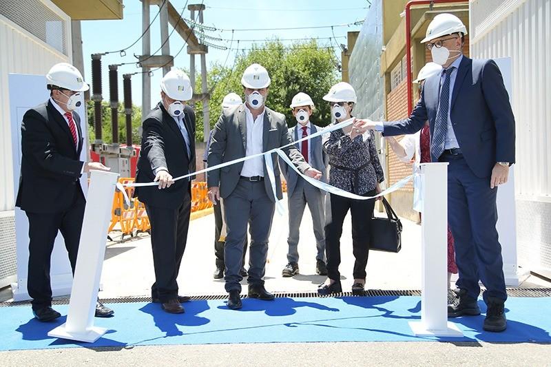 Glew: Blanca Cantero participó de la inauguración de la repotenciación de la subestación eléctrica