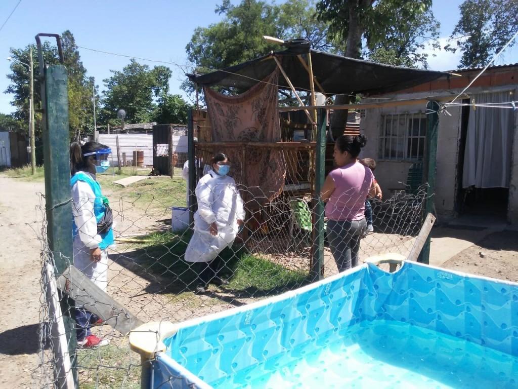 San Nicolás: Continúa el operativo DetectAR y la vacunación en los barrios de la ciudad