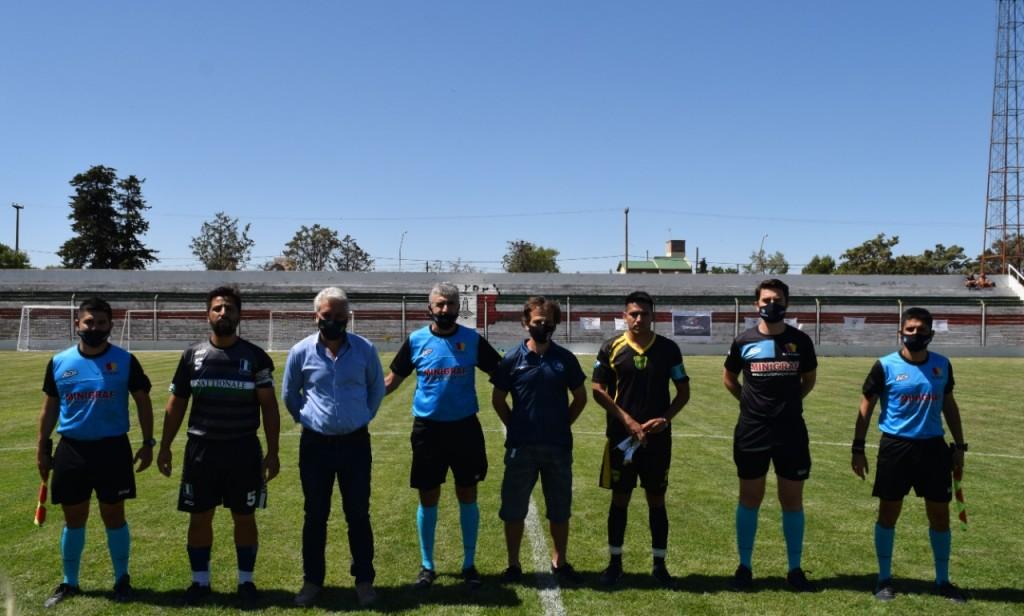 Patagones: Zara participó del lanzamiento del Torneo Nacional de Fútbol Senior