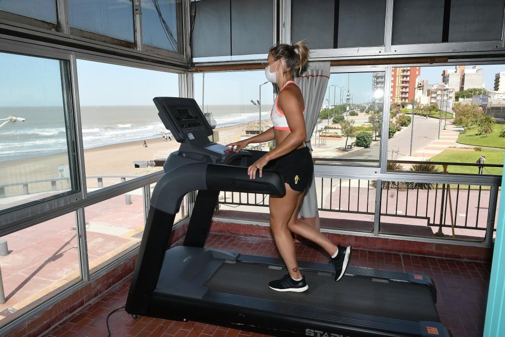 Monte Hermoso: Se sumaron nuevas máquinas de entrenamiento al Centro de Rendimiento Deportivo Municipal
