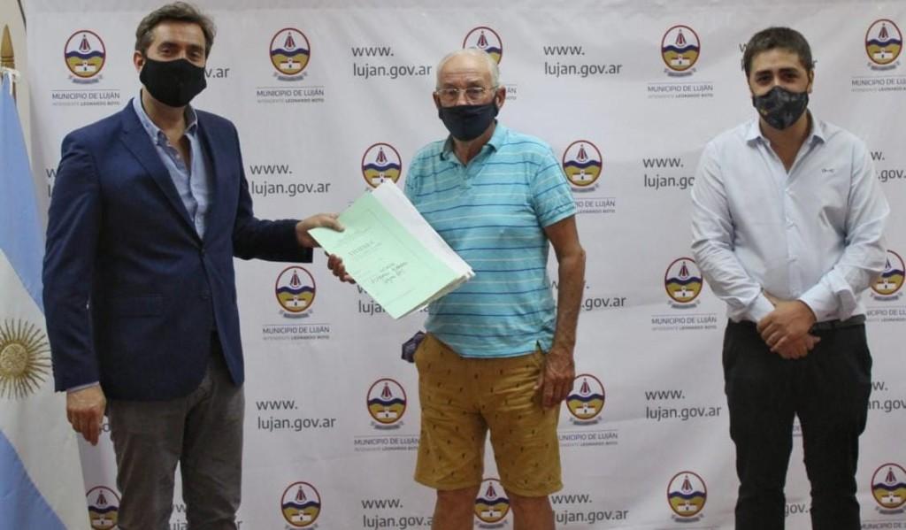 Luján: Se entregaron Actas de Protección a la Vivienda Familiar