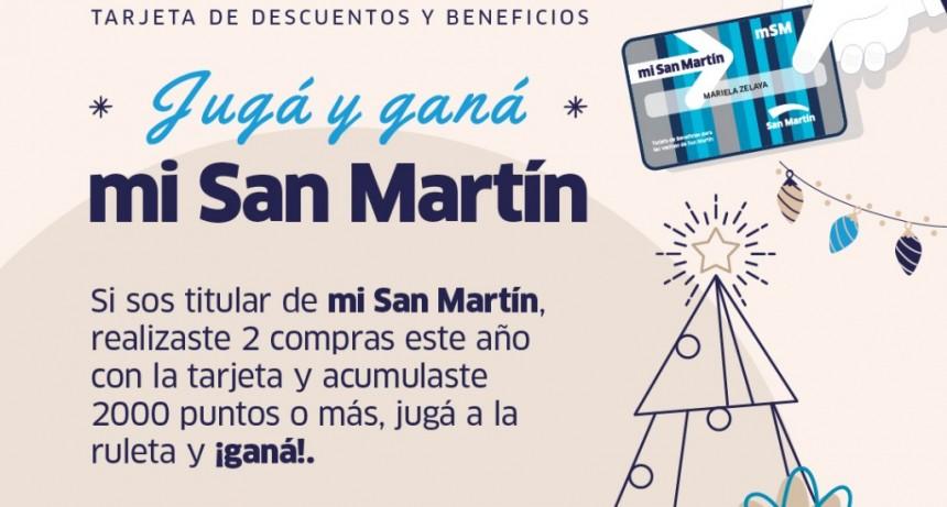 San Martín: El Municipio lanzó un nuevo Juego Navideño con la tarjeta mi San Martín