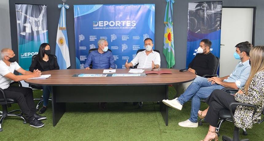 Berisso: Se firmó el Fondo para el Retorno Deportivo Seguro